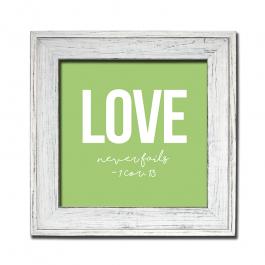 Love Never Fails (Bold)-1 Cor 13