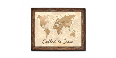 World Map (Called to Serve)