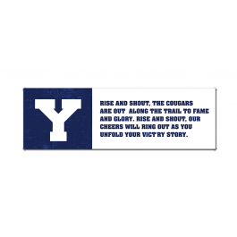 BYU, Rise and Shout (Print Only)