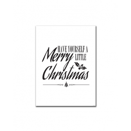 Have Yourself a Merry Little Christmas (Joy) (Print Only)
