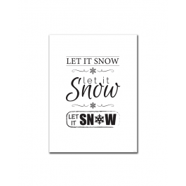 Let it Snow (Mixed) (Print Only)