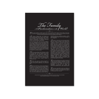 The Family-A Proclamation to the World (Print Only)